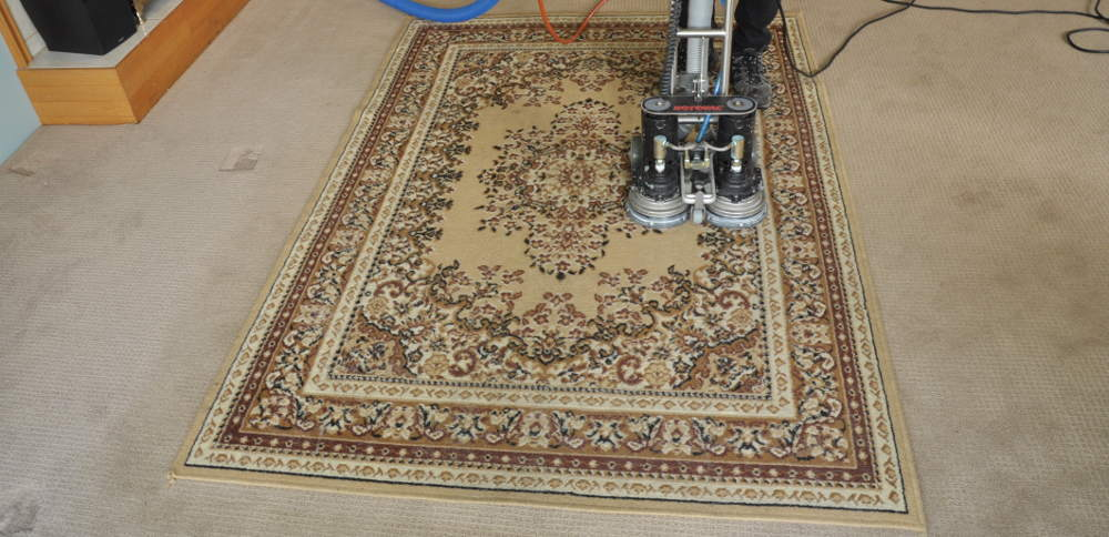how to clean my area rug